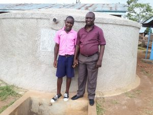 The Water Project:  Caleb Musonye And David Sakwa Anyolo