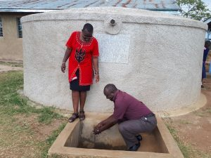 The Water Project:  David Fetches Water