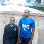 The Water Project: Friends Secondary School Shamakhokho -  Ivy And Enock