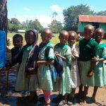 The Water Project: Eshisuru Primary School -  Handwashing Station