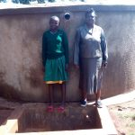 The Water Project: Ebukanga Primary School -  Emmy Sayo Orengo And Magret Afywande