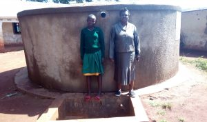The Water Project:  Emmy Sayo Orengo And Magret Afywande