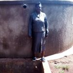 The Water Project: Ebukanga Primary School -  Headteacher Emmy Sayo Orengo