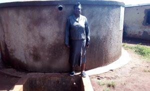 The Water Project:  Headteacher Emmy Sayo Orengo