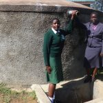 The Water Project: Ibinzo Girls Secondary School -  Maureen Lumula And Principal Esther Abel