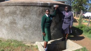 The Water Project:  Maureen Lumula And Principal Esther Abel