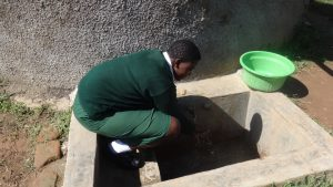 The Water Project:  Maureen Lumula Fetches Water