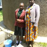 The Water Project: St. Kizito Lusumu Secondary School -  Tracy Makokha And Sarah Luvonga