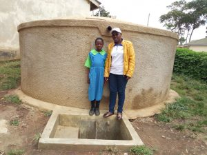 The Water Project:  Field Officer Janet Kayi And Prudence Mbone