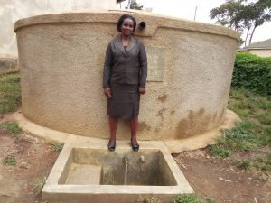 The Water Project:  Margaret Aduvukha