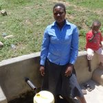 The Water Project: Shitungu Community A -  Diana Immitsa At The Spring