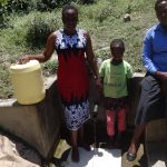 The Water Project: Shitungu Community A -  Esther Waka And Diana Immitsa