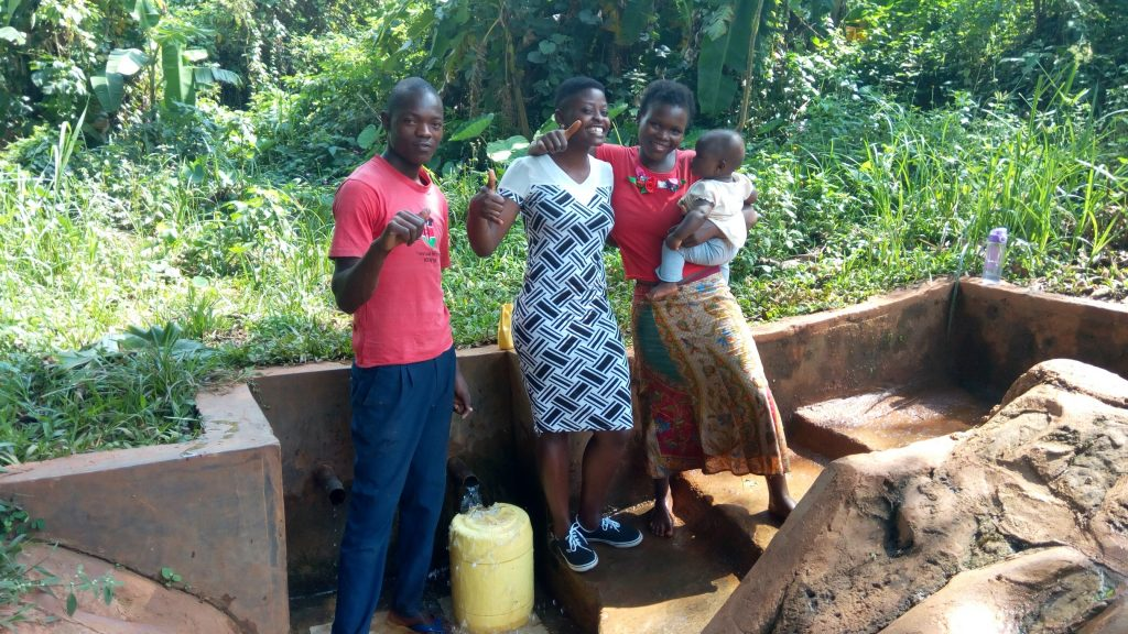 The Water Project : kenya4699-alex-musonye-and-chebet-cheruto