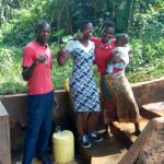 The Water Project: Munzakula Community, Musonye Spring -  Alex Musonye And Chebet Cheruto
