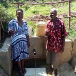 The Water Project: Emarembwa Community -  Thumbs Up For Safe Reliable Water