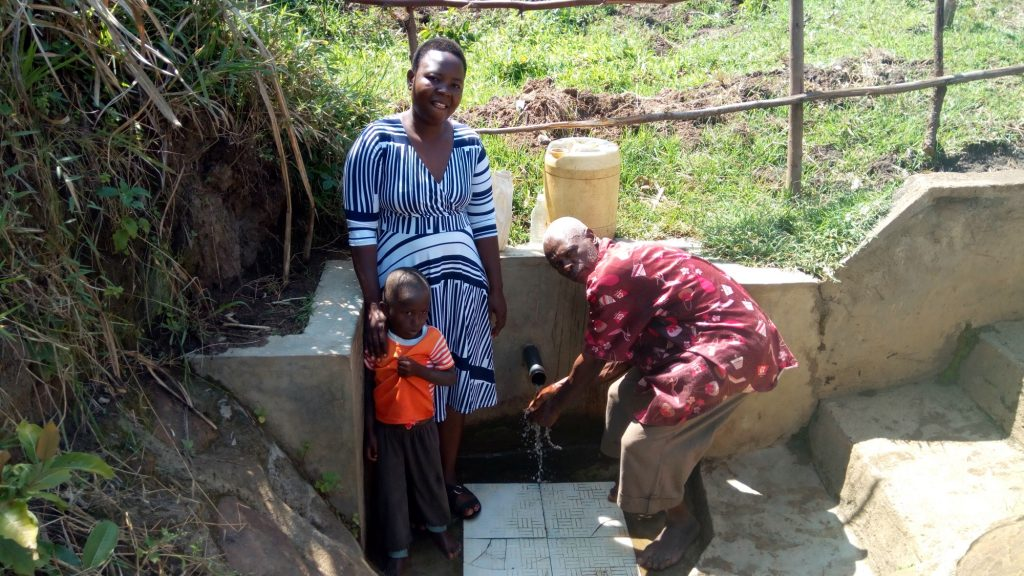 The Water Project : kenya4700-protected-spring