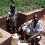 The Water Project: Shikhuyu Community -  Dickson Aswani And John Memba