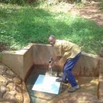 The Water Project: Wanzuma Community -  Mr Abisaye