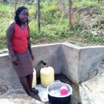 The Water Project: Bukhakunga Community -  Fetching Water