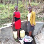 The Water Project: Bukhakunga Community -  Immah Luvanga At The Spring