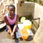 The Water Project: Tsivaka Community, Wefwafwa Spring -  Milldred Lumbasi