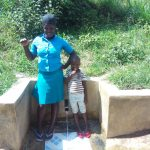 The Water Project: Ebung'ayo Community, Wycliffe Spring -  Christabel Nasimiyu And Mary Nekesa