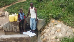 The Water Project:  Eugine Amala And Enock Amala