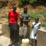 The Water Project: Shikoti Community B -  Thumbs Up For Reliable Water