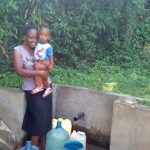 The Water Project: Shikhambi Community, Daniel Inganga Spring -  Sarah Opanga