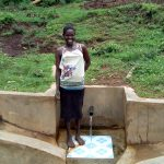 The Water Project: Mumuli Community, Shalolwa Spring -  Lucy Wasike