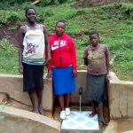 The Water Project: Mumuli Community, Shalolwa Spring -  Lucy Wasike And Violet Musanga