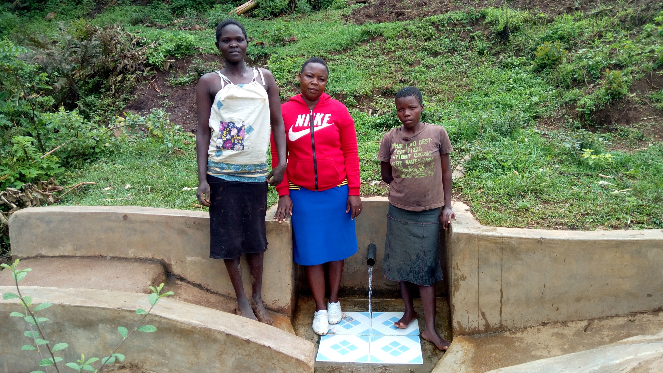 The Water Project : kenya4737-lucy-wasike-and-violet-musanga