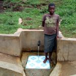The Water Project: Mumuli Community, Shalolwa Spring -  Violet Musanga