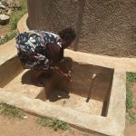 The Water Project: Bukura Primary School -  A Teacher Uses The Tank