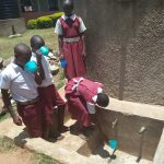 The Water Project: Bukura Primary School -  Fetching Water