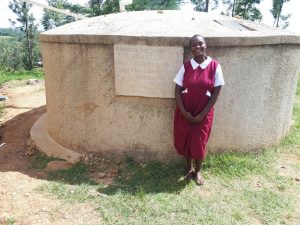 The Water Project:  Laura Madolyne A Student At Bukura Primary School