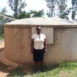 The Water Project: Bukura Primary School -  Mrs Violet Andayi The Sanitation Teacher Bukura Primary