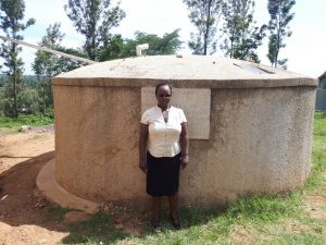 The Water Project:  Mrs Violet Andayi The Sanitation Teacher Bukura Primary