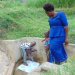 The Water Project: Bushevo Community -  James Enani His Mother And Brother