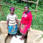 The Water Project: Hondolo Community, Musila Spring -  Alaxine Namusasi