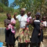 The Water Project: Chegulo Community, Shakava Spring -  Thumbs Up For Safe Water