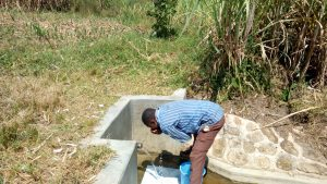 The Water Project:  Drinking Directly From The Spring