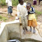 The Water Project: Timbito Community, Atechere Spring -  Excitement Of Clean Water