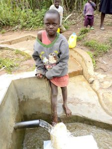 The Water Project:  Victoria Kageha Fetching Water
