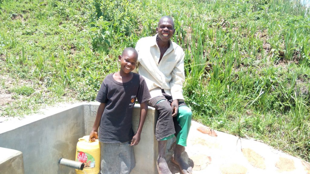 The Water Project : kenya4848-doreen-and-stephen