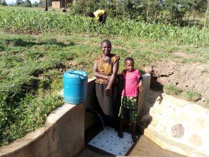 The Water Project:  Jentrine Nanzala And Angeline Ainea
