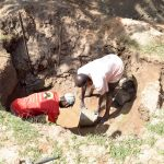 The Water Project: Kivani Community C -  Construction