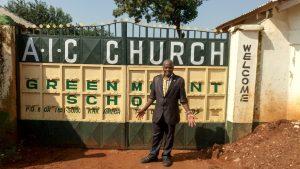 The Water Project:  Headteacher Wetika Maina