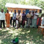 The Water Project: Ematetie Community, Chibusia Spring -  Training Group Picture
