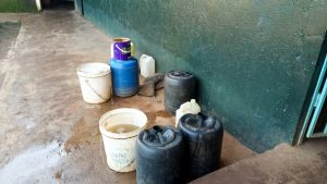 The Water Project:  Containers Used For Water Delivery